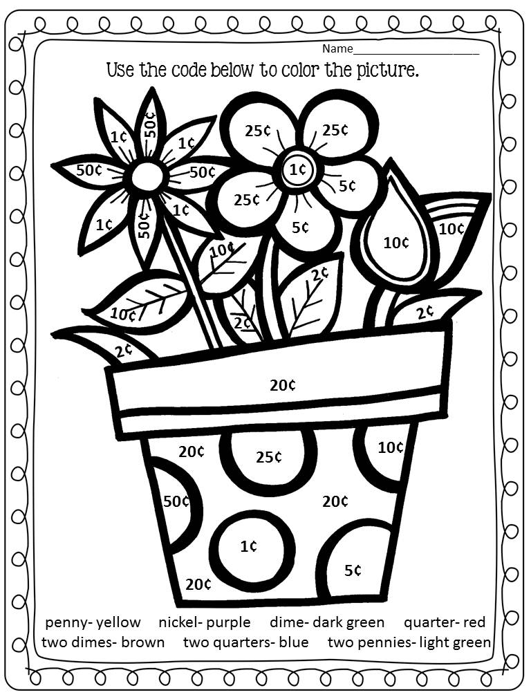 22 Fun-to-do Division Color by Number Printables