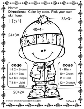 22 Fun To Do Division Color By Number Printables Kitty