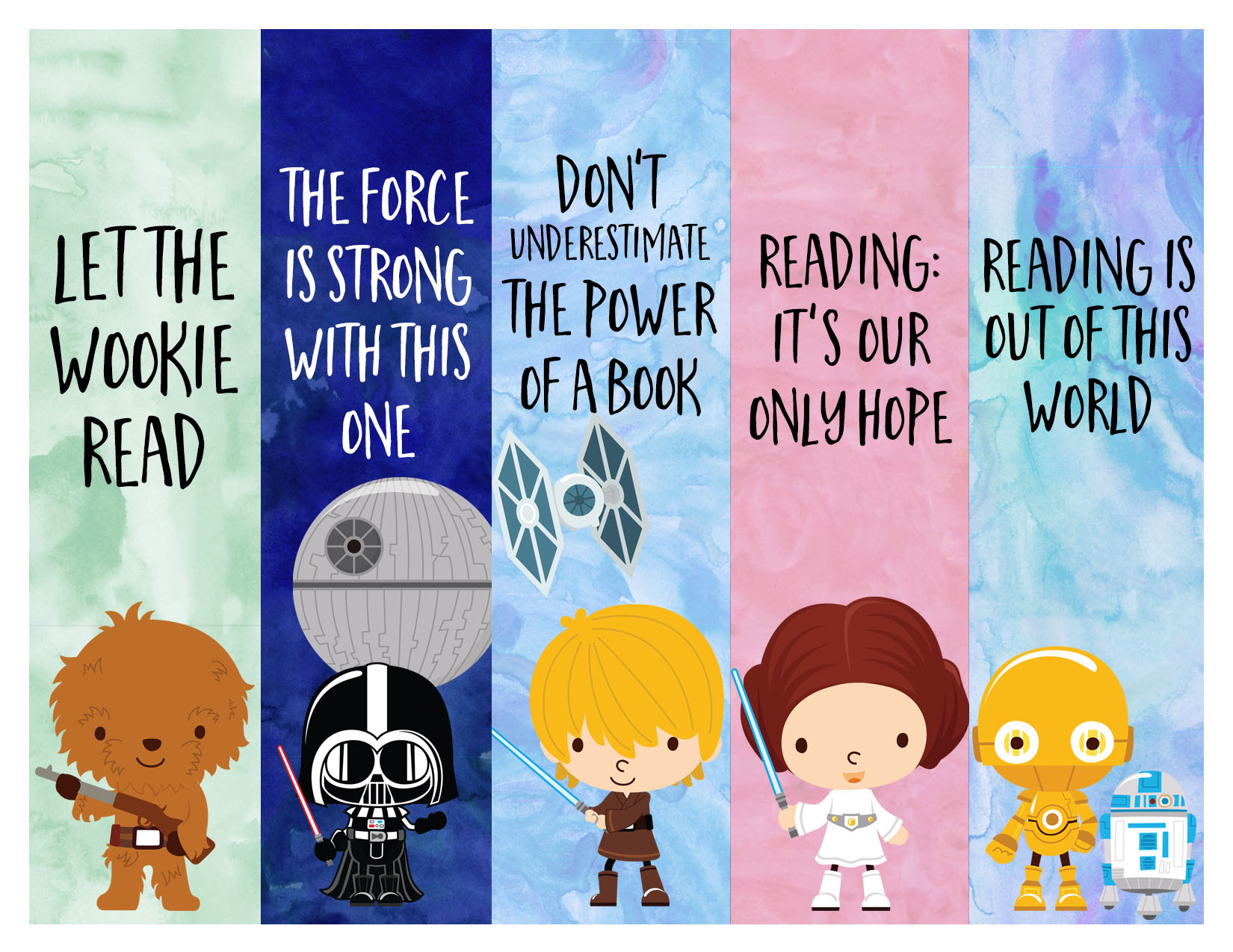 87 Free And Printable Bookmarks