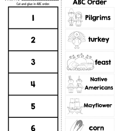 38 Alphabetical Order Worksheets   KittyBabyLove.com [ 1600 x 1238 Pixel ]