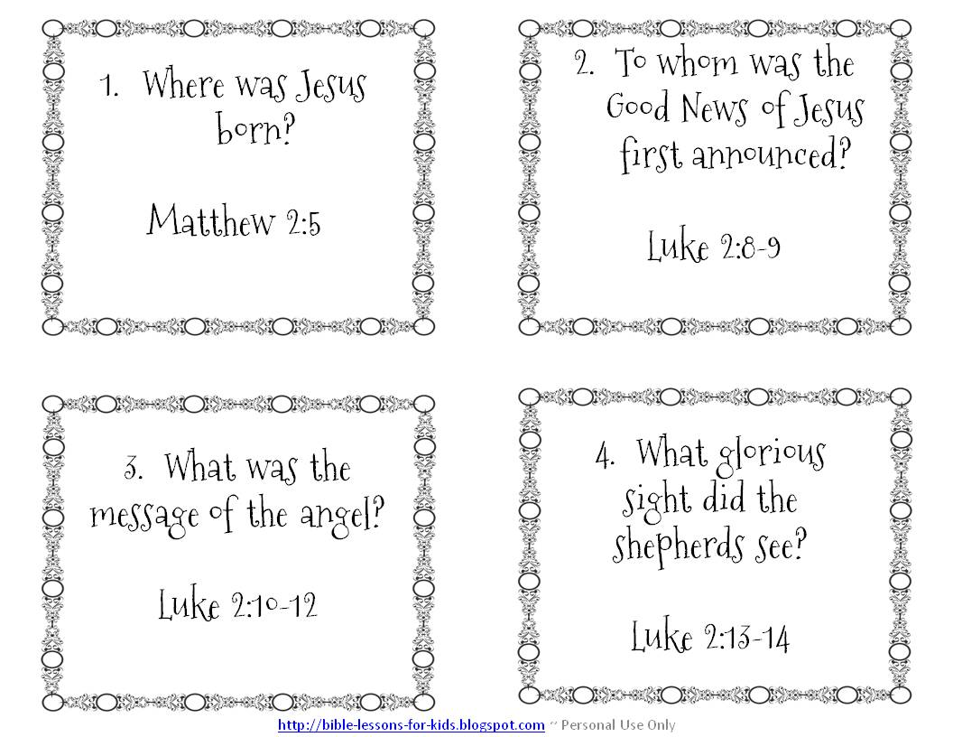 54 Bible Worksheets For You To Complete