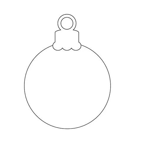 Printable Christmas Ornaments
