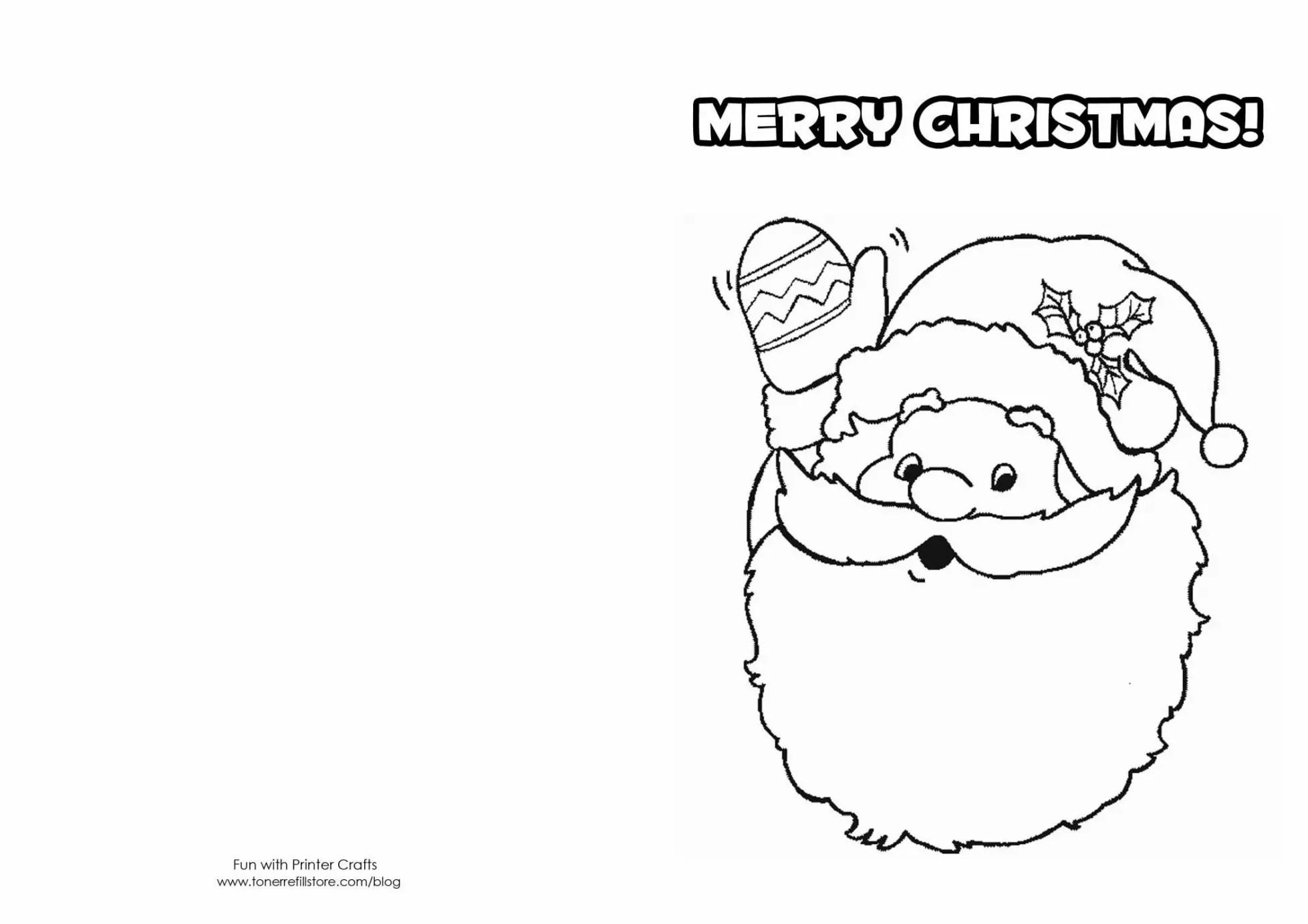 38 Joyful Coloring Christmas Cards