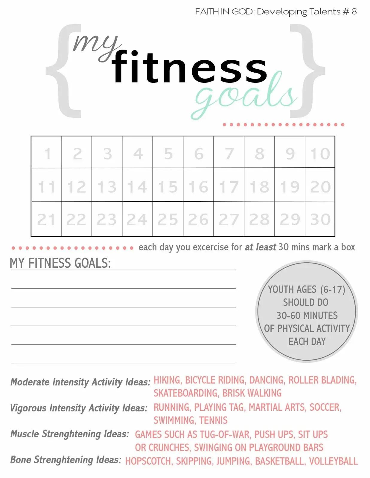 70 Effective Goal Setting Worksheets