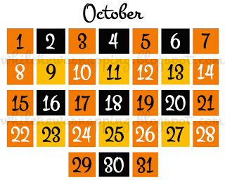 5 Spooky Halloween Countdown Calendars | KittyBabyLove.com