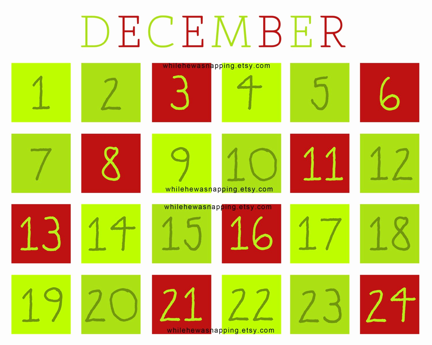 22 Awesome Christmas Countdown Calendars   KittyBabyLove.com