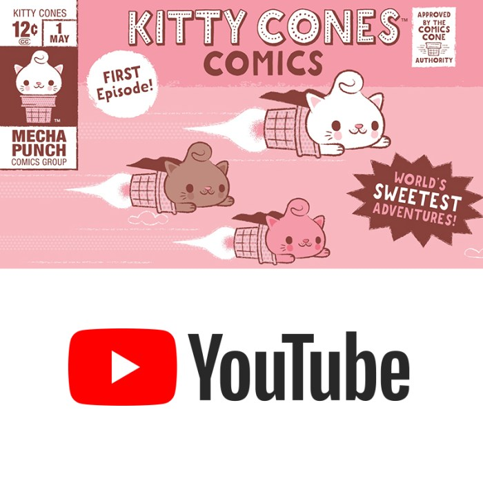 Kitty Cones Official YouTube Channel