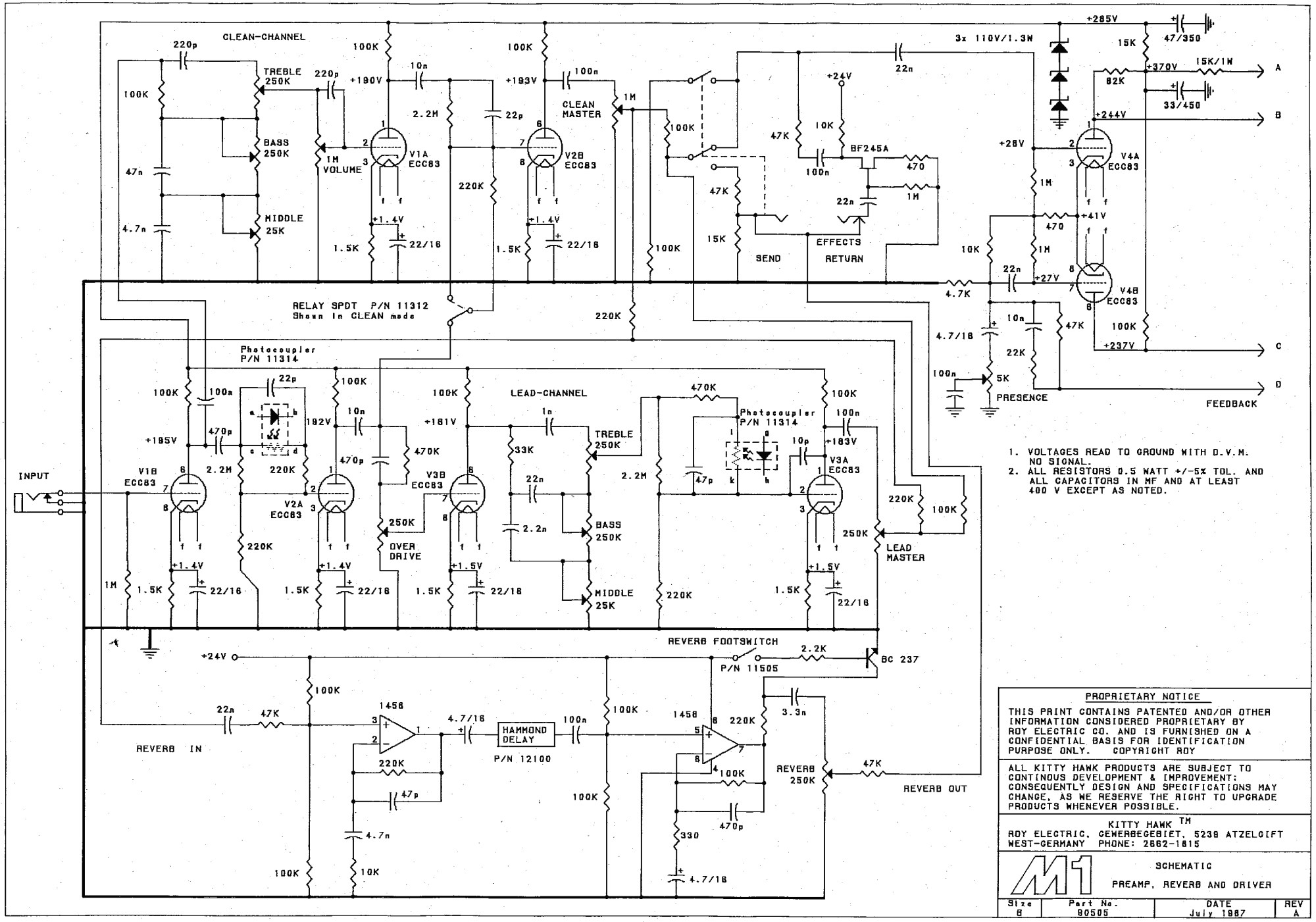 hight resolution of m1 preamp