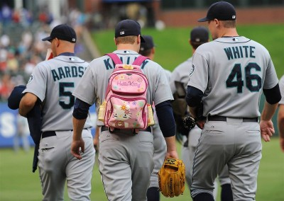 Hello Kitty major league baseball punishment