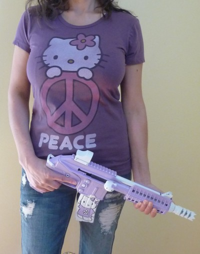 hello kitty peace