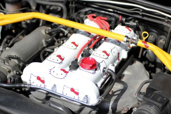hello kitty car engine