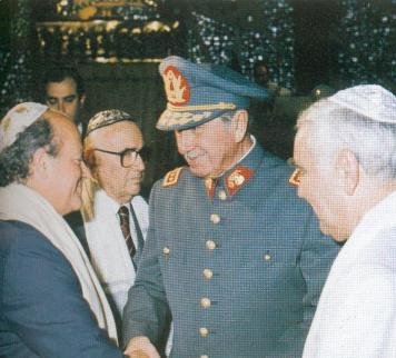 pinochet and jews