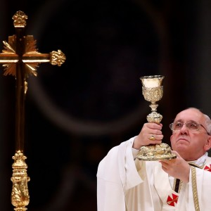Pope Francis Chalice