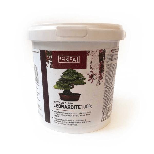 leonardite contenente acidi umici e fulvici per bonsai