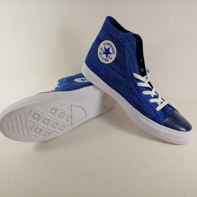 Converse Chuck Taylor All Star Flyknit Hi Chlorine Blue