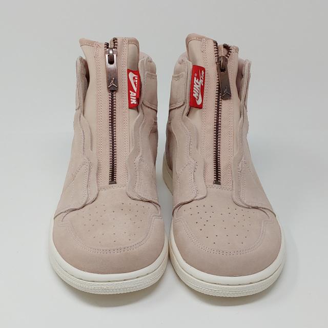 Nike Air Jordan 1 AJ1 High Retro Zipper Particle Beige