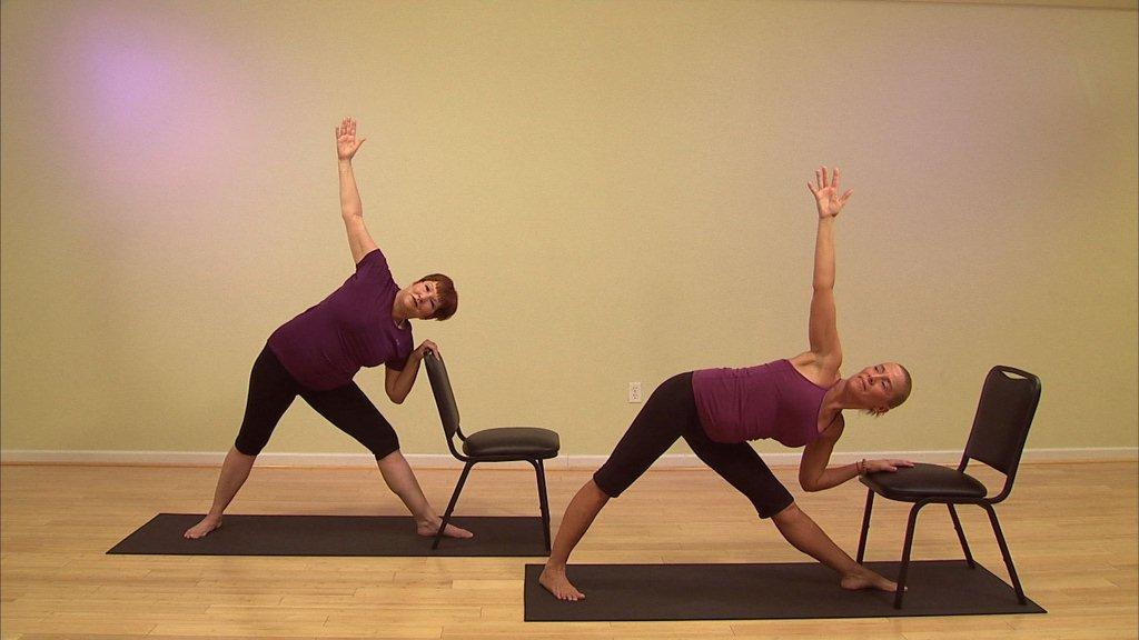 Chair Yoga at Core Yoga class on Tuesday at Grandview  Kiva Therapeutics