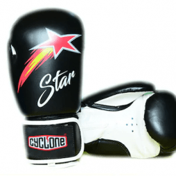 Cyclone Star Boks Eldiveni Siyah