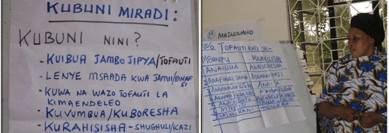 Mafunzo ya Kuibua Miradi