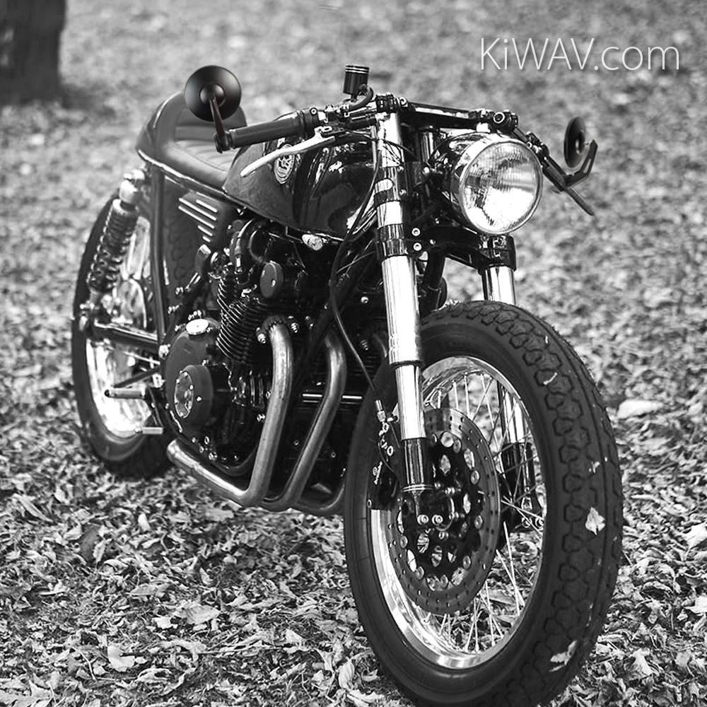 medium resolution of motorcycle bar end mirrors bob on suzuki gs550