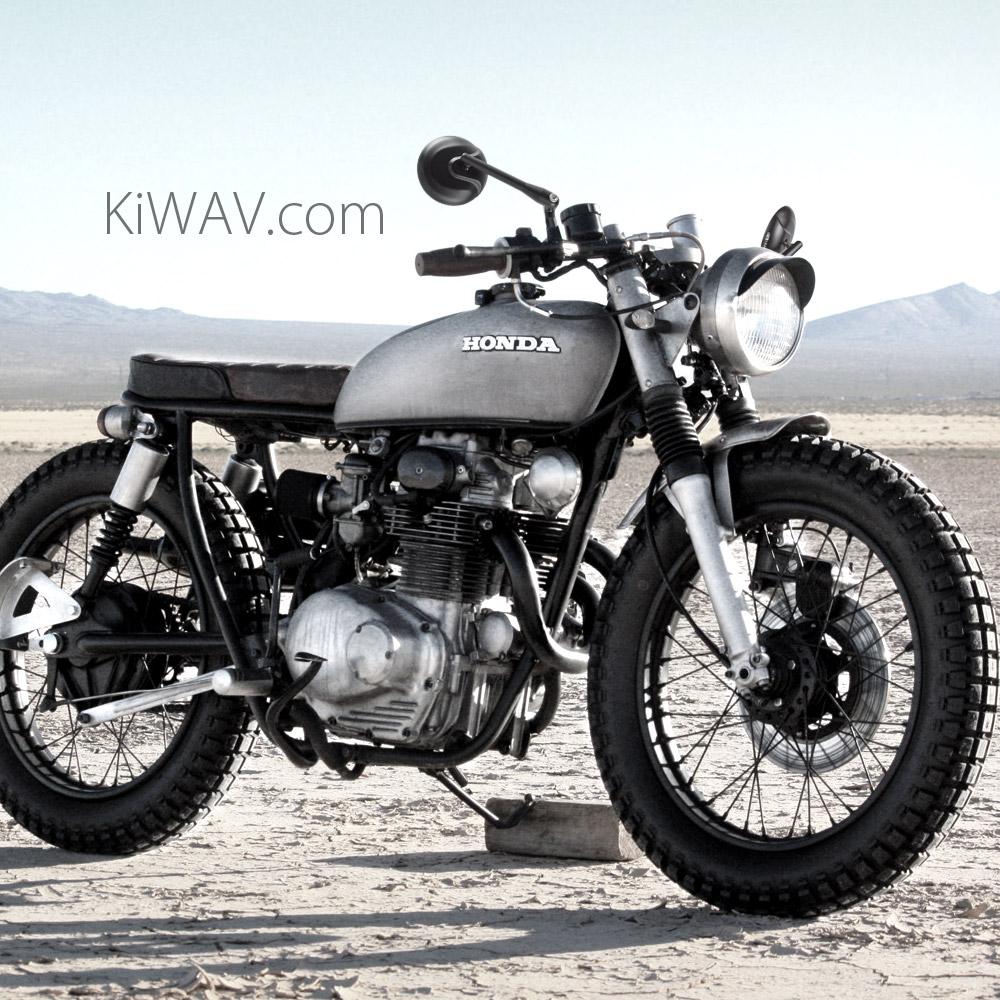medium resolution of  motorcycle mirrors retro on honda cb350