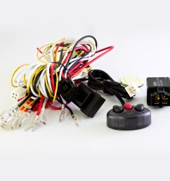 wiring harness kit cable wk 010 power on off lights on  [ 1000 x 1000 Pixel ]
