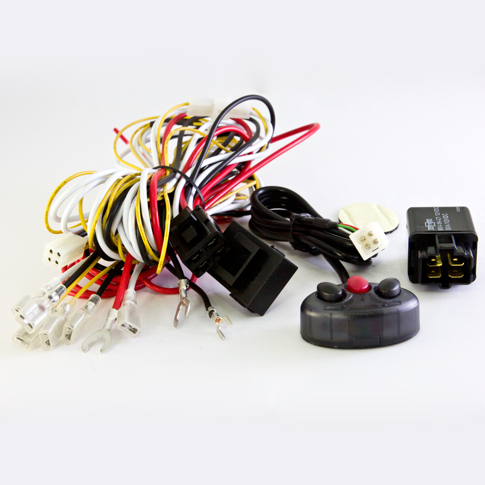hight resolution of wiring harness kit cable wk 010 power on off lights on