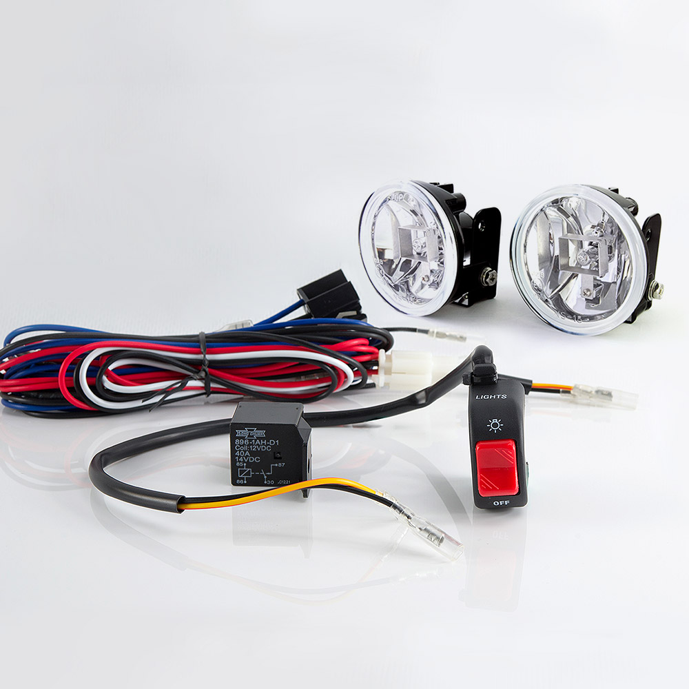hight resolution of sirius ns 15 fog light lamp with wiring harness and black fog light switch