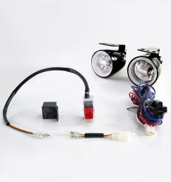 lights indicators sirius ns 16 fog light with wiring harness and lights sirius ns16 fog lamp with wiring kit [ 1000 x 1000 Pixel ]
