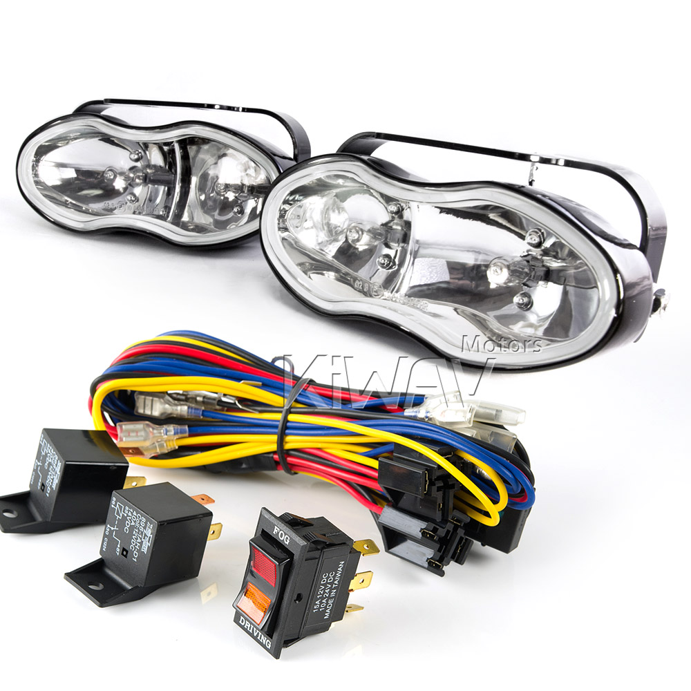 medium resolution of sirius ns 119 dual fog driving lights wiring harness set wk010