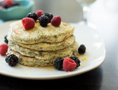 Lemon Poppyseed Pancakes