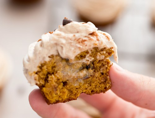Pumpkin Spice Cupcakes with Nutmeg Buttercream Frosting