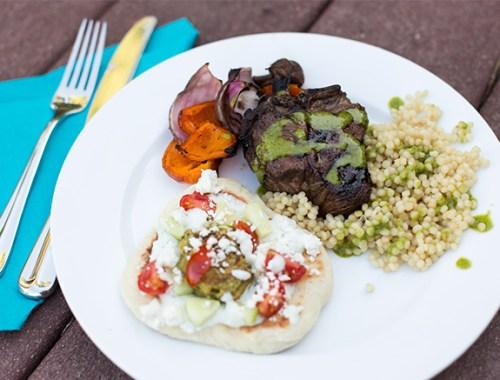 Greek Dinner Menu
