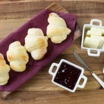 Easy Overnight Refrigerator Rolls can be made days in advance and kept in the fridge until ready to use. No kneading required!