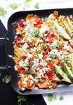 Healthy Loaded Sweet Potato Nachos