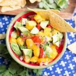 Fresh Nectarine Salsa