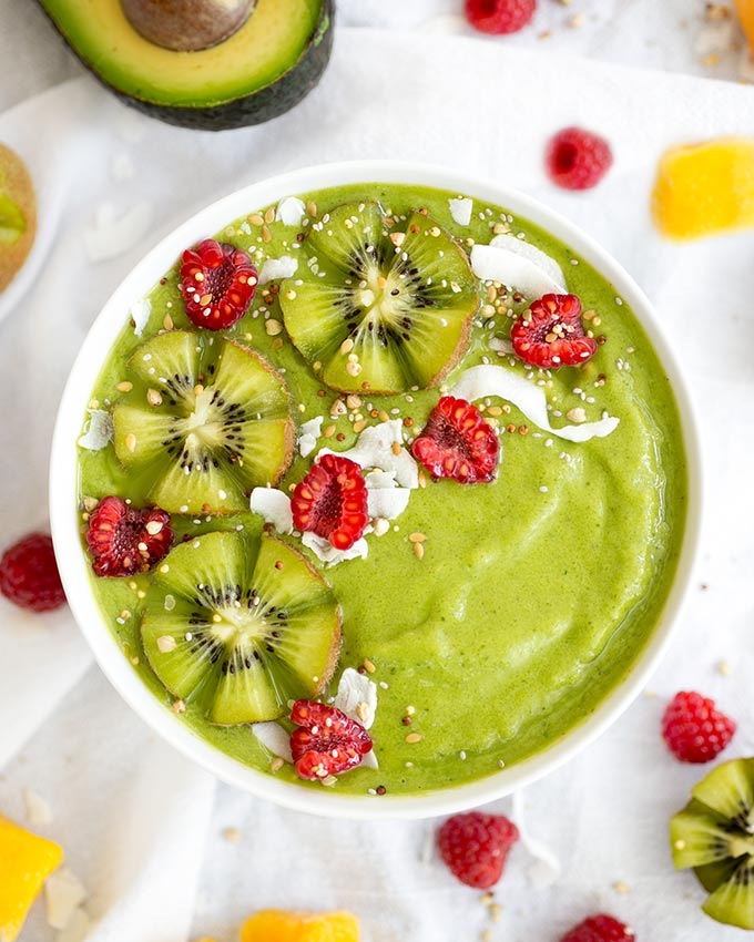 How To Make The Perfect Smoothie Bowl Kiwi And Carrot