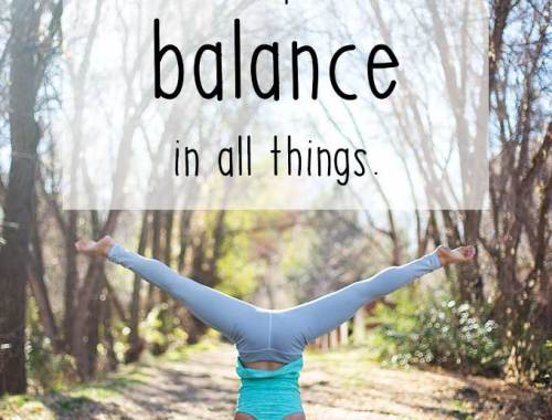 Life can be crazy. It is becoming increasingly important to find balance in all things. Find time for your family, your health and most importantly, others.