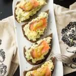 Smoked Salmon and Egg Avocado Toast