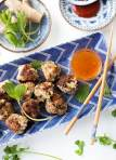 Spicy Thai Meatballs with Apricot Dipping Sauce