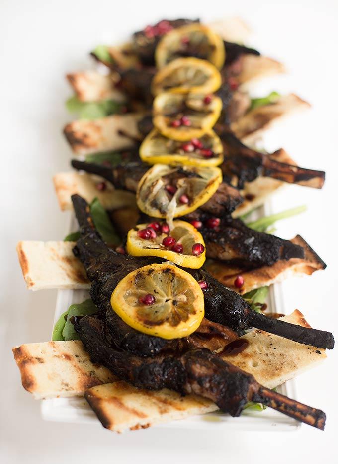 Scott's Lamb Chops:This classic Mediterranean recipe combines fresh herbs, garlic and lemon for a delicious, juicy lamp chop.