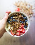 Pumpkin Flax Molasses Granola