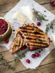 Turkey Cranberry Paninis