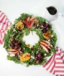Christmas Salad Wreath