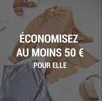 Economisez au moins 50 euros