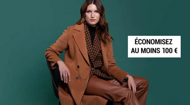 Economisez au moins 100 euros