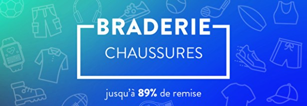 Chaussures braderie