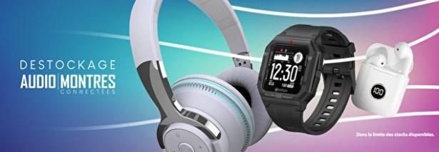 Audio et montres connectees
