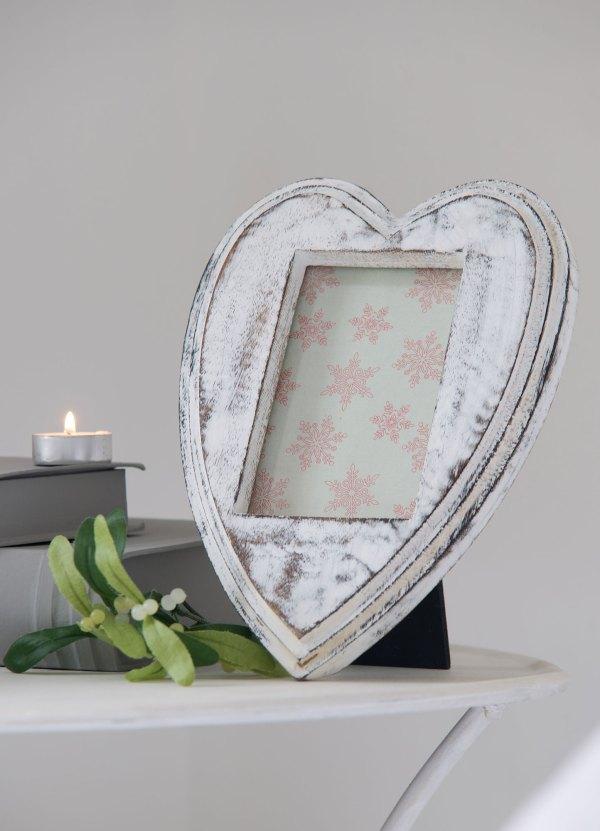 """Retreat Home Heart Shape & Aperture Frame 6"""" X 4"""""""