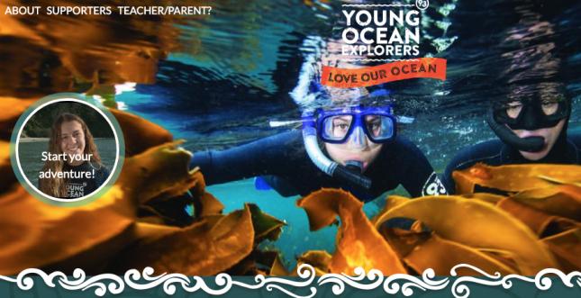 youngoceanexplorers.com